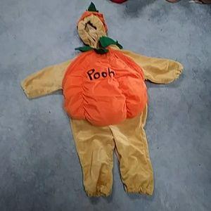 Winnie the pooh pumpkin costume 18-24m